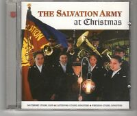 (HH522) The Salvation Army, at Christmas, 17 tracks - 1999 CD