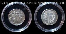 Portugal 5 Escudos 1947 vendu sous capsule Argent/Silver