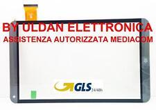 TOUCH SCREEN MEDIACOM SmartPad Mx 10 M-SP10MXHA VETRO Grigio ORIGINALE - GLS 24H