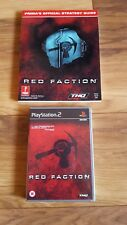 PS2 - Red Faction Game and Prima Strategy Guide, Collectors item