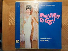 20TH CENTURY FOX LP RECORD/WHAT A WAY TO GO/ SHIRLEY MACLAINE/ NELSON RIDDLE/VG+