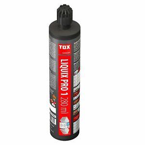 TOX Verbundmörtel Liquix Pro 1  280 ml + 2 Statikmischer Injektionsmörtel