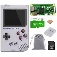 owootecc Retroflag GPi CASE With Raspberry Pi Zero W and 32G SD Card for