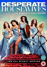 Desperate Housewives - Series Season 6 - Complete (DVD, 2010, 5-Disc Set)