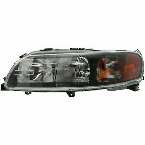 FIT FOR VOLVO V70 2001 2002 2003 2004 HEADLIGHT HALOGEN LEFT DRIVER 8693563-2