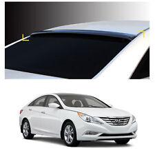Smoke Roof Rear Visor Wing Spoiler Molding for Hyundai Sonata / i45 2011-2014