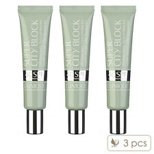 Pack of 3 Clinique Super City Block Oil-Free Daily Face Protector SPF 40 40ml