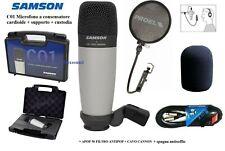 Samson C01 Microfono ipercardioide a diaframma Largo EX Demo