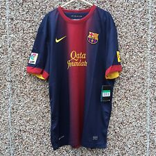 Barcelona  FC 2012 2013 Home Football Shirt Adult XL NEW Camiesta OFFICIAL