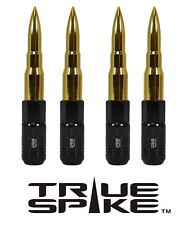 16 TRUE SPIKE 121MM 12X1.5 GOLD EXTENDED STEEL TUNER SPIKED BULLET LUG NUTS B