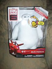 "Disney Big Hero 6 BAYMAX Talking 10"" Plush W/Sound Effects SFX"