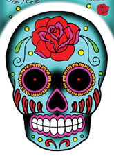 Sunny Buick Rose Sugar Skull Sticker DECAL  6 INCH
