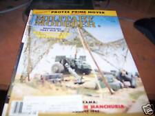 Military Modeler May 1987 Detailing Protze Prime Mover