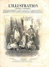 Ambassade Fouta-Djalon/Guinée Paris Ambassadeur Modi Hamadou Seydou GRAVURE 1882