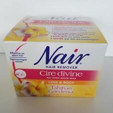 Nair Cire divine Microwave Resin Wax TAHITIAN GARDENIA Legs and Body NEW
