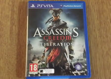 Assassin's Creed 3 III: Liberation Sony PS Vita **FREE UK POSTAGE!!**