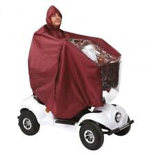 Comfy Scoota Cape Mobility Scooter Waterproof Cover with Hood BLUE