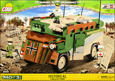 COBI Rommel's Mammoth (2525) - 740 elem. - WWII (UK) German command vehicle