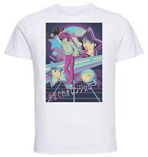 T-Shirt White - Vaporwave Orange Road - Characters Variant 01