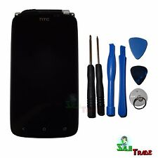 ORIGINALE HTC One S z560e z520e display LCD TOUCH SCREEN VETRO + FRAME