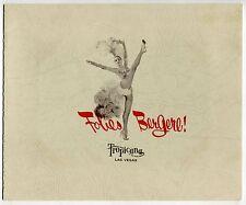 "Old ""TROPICANA HOTEL"" Souvenir Photo & Holder # 2: ""Folies Bergere!"" [Las Vegas]"