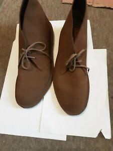 Clarks Originals Desert boot suade brown UK 12