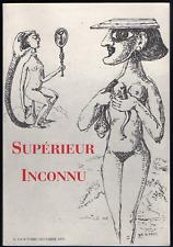 Supérieur Inconnu, n° 1. Octobre-décembre 1995. Claude Tarnaud, Michel Bulteau