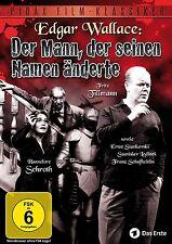 Edgar Wallace - Der Mann der seinen Namen änderte * DVD Krimi Pidax Film Neu