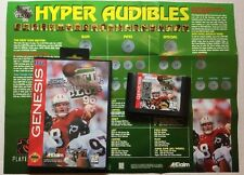 NFL Quarterback Club 96  (Sega Genesis 1996) Football~Farve~Young~Elway~Marino