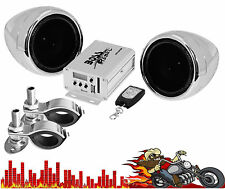 MC520B BOSS MOTORCYCLE 600watt  Amp & 2 Speakers USB,SD,AUX,Bluetooth em