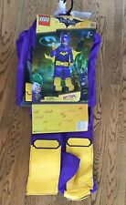 NEW Lego Batgirl Costume Size Small 4-6X The Batman Movie