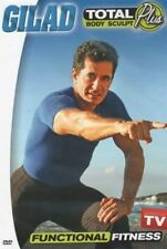 GILAD TOTAL BODY SCULPT PLUS FUNCTIONAL FITNESS DVD NEW AS SEEN ON TV WORKOUTS