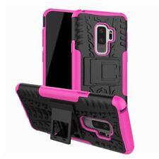 Hybrid Case 2teilig Outdoor Pink Tasche Hülle für Samsung Galaxy S9 G960F Hülle