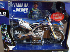 New Ray Yamaha JGR Scale Model 1:12 Die Cast Toy Bike YZF Barcia Xmas gift