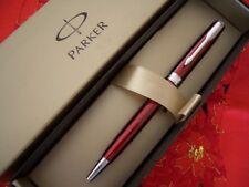 Parker Sonnet laccata Red Ballpoint con clip e particolari silver - refill blu