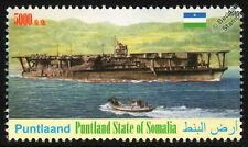 KAGA Japanese Navy Aircraft Carrier IJN WWII Warship Ship Stamp