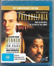 Philadelphia : 20th Anniversary Edition - Blu Ray New Region B Free Post