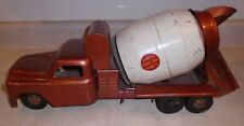 1950s Bronze Structo Truck Ready-Mix Concrete, Pressed Steel ~Great Condition~