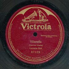 14pc78-Classical soprano in Italian-Victrola 87328-Lucrezia Bori