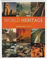 2005 STAMP PACK 'WORLD HERITAGE AUST - UK JOINT ISSUE' INC 4 PAIRS OF MNH STAMPS