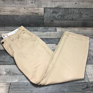 Men's Fat Face Khaki Chinos-Wide Leg Waist 36 inside Leg 33