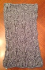 Aerie By American Eagle - Gray Cable Knit Acrylic Womens Infinity Snood - NWT