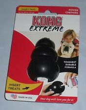 Kong Extreme Black Rubber Dog Chew Toy Tough Stuffable All Sizes Fast Ship!