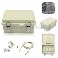 IP65 Waterproof Electronic Junction Box Enclosure Case Outdoor Terminal Cable