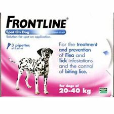 Frontline Spot On Large Dog 20-40kg (3Pipettes) - 20047