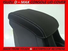ISUZU D-MAX NEOPRENE CONSOLE LID COVER ( WETSUIT FABRIC ) MAY 2012  - CURRENT