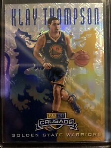 2012-13 Panini Crusade Klay Thompson RC #8 Golden State Warriors Rookie!