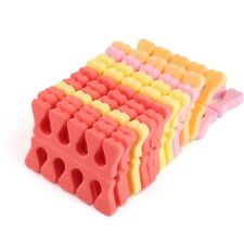 100Pcs PCS Soft Sponge Foam Finger Toe Separators Pedicure Manicure Nail Art