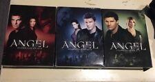 Angel DVD Lot Seasons 1 2 & 4 3 Complete Seasons Joss Whedon Fox Free Shipping!