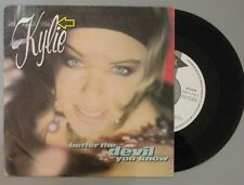 "KYLIE MINOGUE Better the devil you know 7"" Vinyl VG+ Cover VG Promo SPAIN"